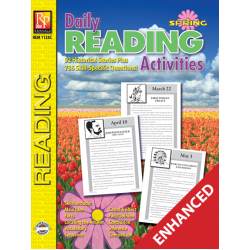 Daily Reading Activities: Spring (Enhanced eBook)