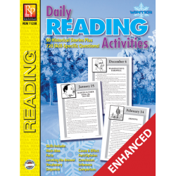 Daily Reading Activities: Winter (Enhanced eBook)