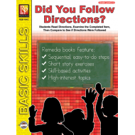 Did you Follow Directions? (eBook)