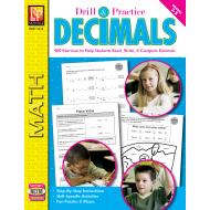 Decimals: Drill & Practice for Grades 3 to 5 (eBook)