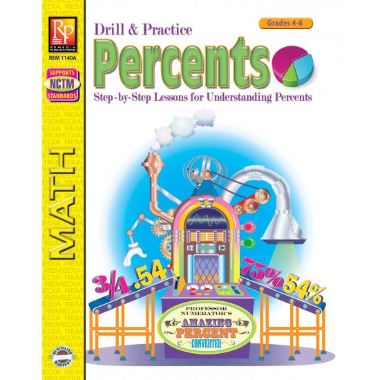 Percents: Drill & Practice (eBook)