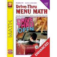Drive-Thru Menu Math: Multiply & Divide Money (Enhanced eBook)