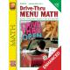 Drive-Thru Menu Math: Beginning Money Skills (Enhanced eBook)