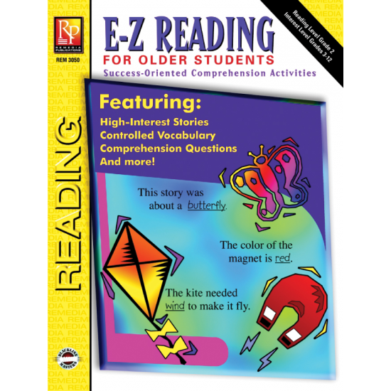 E-Z Reading for Older Students (eBook)