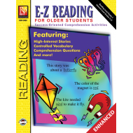 E-Z Reading for Older Students (Enhanced eBook)