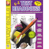 E-Z Test Readiness - Grade 4 (eBook)