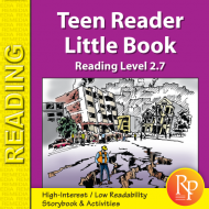 Teen Reader Storybook: Why is Everything Shaking? (Reading Level 2.7)
