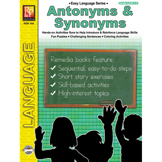 Easy Language Series: Antonyms & Synonyms (eBook)