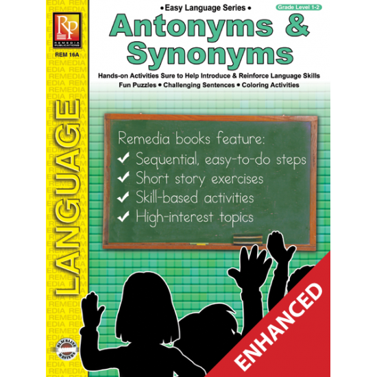 Easy Language Series: Antonyms & Synonyms (Enhanced eBook)