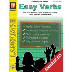 Easy Language Series: Easy Verbs (Enhanced eBook)