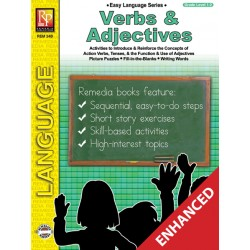Easy Language Series: Verbs & Adjectives (Enhanced eBook)