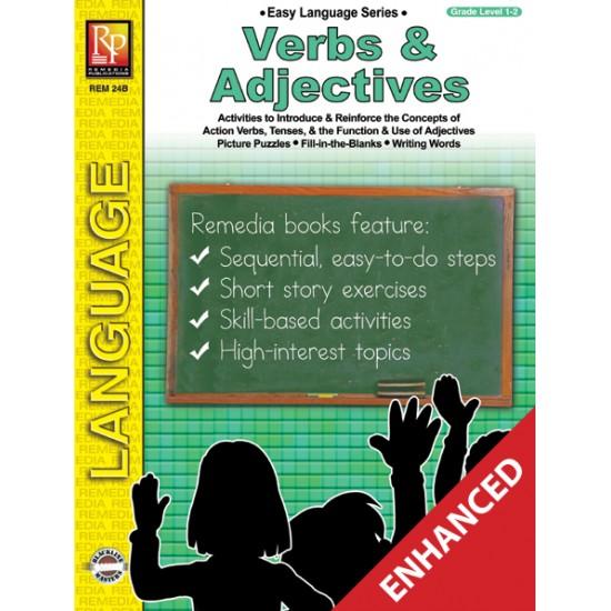 Easy Language Series: Verbs & Adjectives (Enhanced eBook)