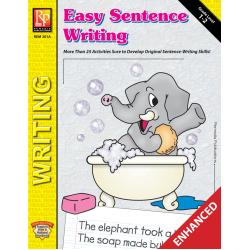 Easy Sentence Writing (Enhanced eBook)