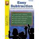 Easy Subtraction Coloring Fun (eBook)