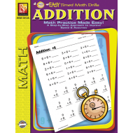 Addition: Easy Timed Math Drills (eBook)