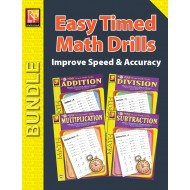 Easy Timed Math Drills (Bundle)