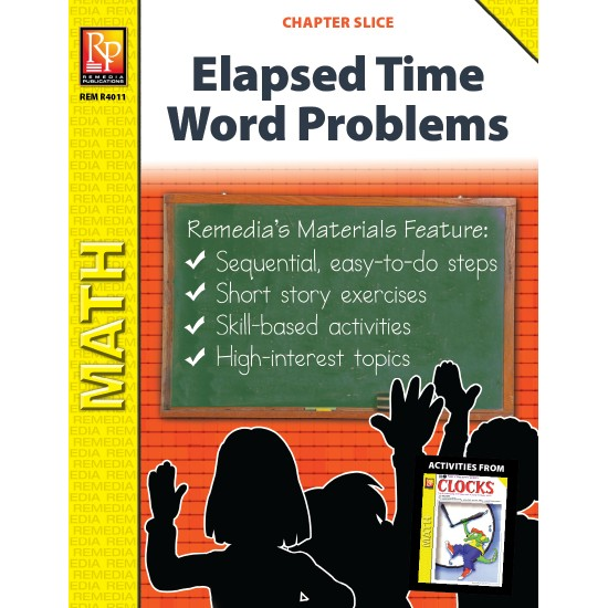Elapsed Time Word Problems (Chapter Slice)