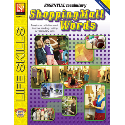 Essential Vocabulary: Shopping Mall Words (eBook)