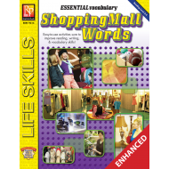 Essential Vocabulary: Shopping Mall Words (Enhanced eBook)