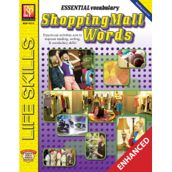 Essential Vocabulary: Shopping Mall Words (Enhanced eBook)