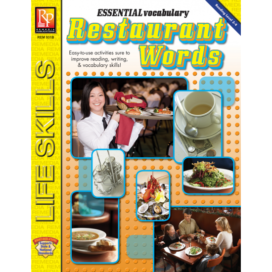 Essential Vocabulary: Restaurant Words (eBook)