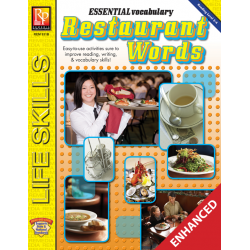Essential Vocabulary: Restaurant Words (Enhanced eBook)