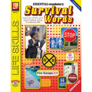 Essential Vocabulary: Survival Words (Enhanced eBook)