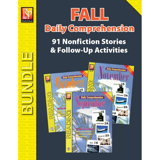 Daily Comprehension: Fall (Bundle)
