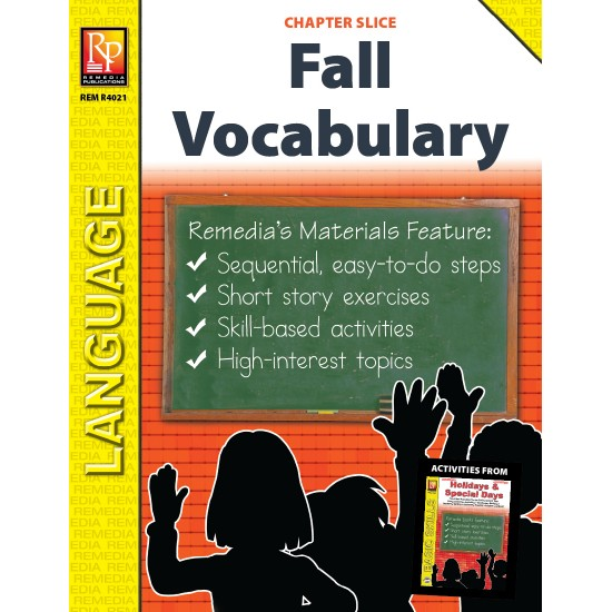 Fall Vocabulary-Builder (Chapter Slice)