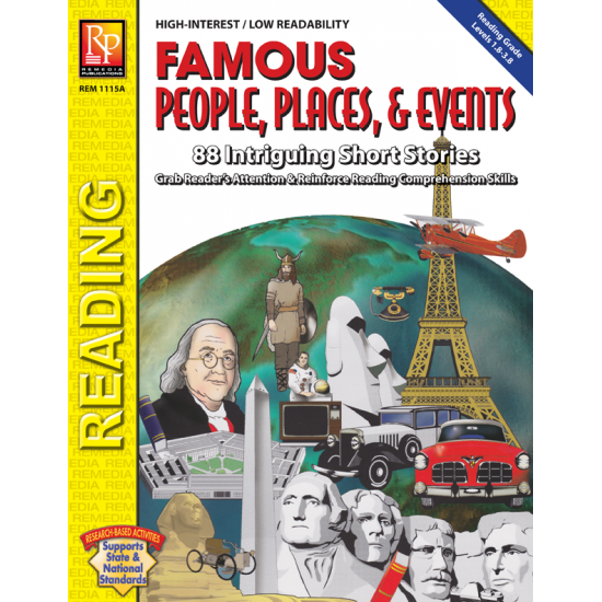 Famous People, Places, & Events (eBook)