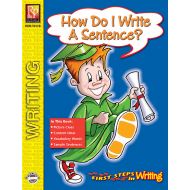 How Do I Write A Sentence? - First Steps in Writing (eBook)