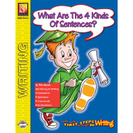 What Are the Four Kinds Of Sentences? - First Steps in Writing (eBook)