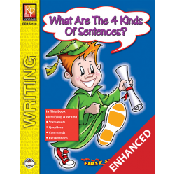 What Are the Four Kinds Of Sentences? - First Steps in Writing (Enhanced eBook)