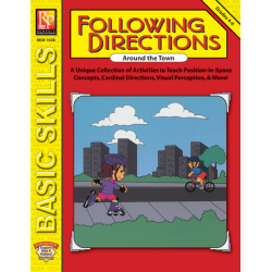 Following Directions Around The Town (eBook)