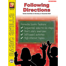 Following Directions - Grades 1-2 (eBook)