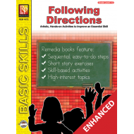 Following Directions: Finish the Picture (Enhanced eBook)