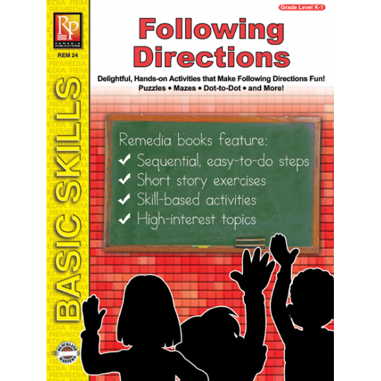 Following Directions - Grades K-1 (eBook)