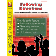 Following Directions: Read & Color (eBook)