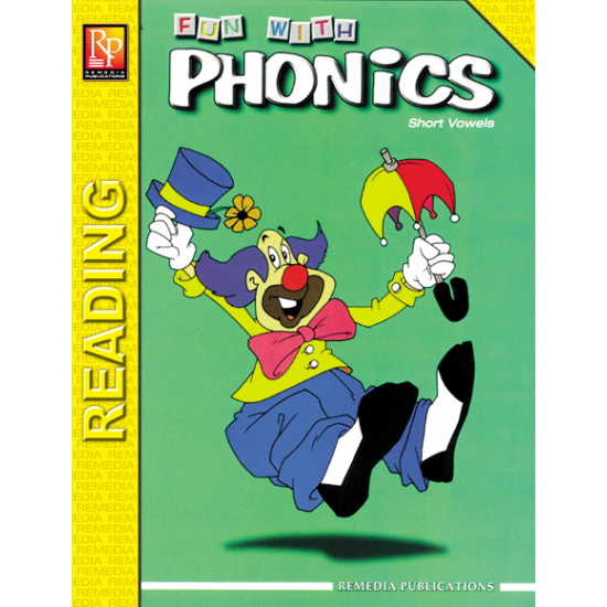 Fun With Phonics: Short Vowels (eBook)