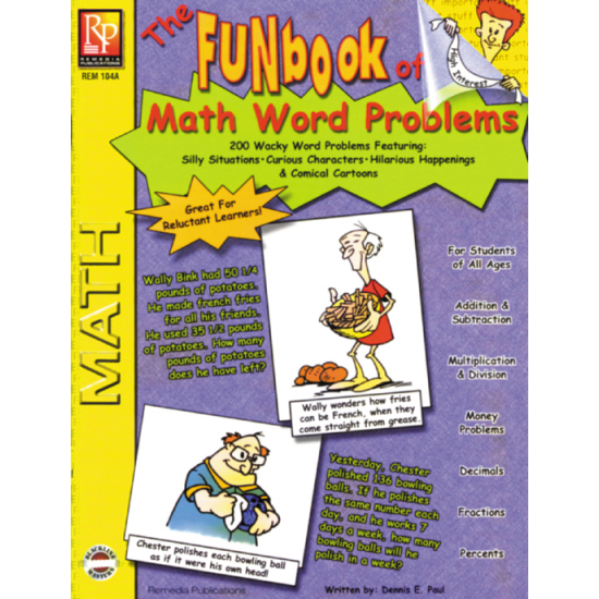 FUNbook of Math Word Problems (eBook)