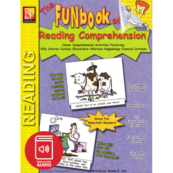 FUNbook of Reading Comprehension (Audio & eBook)