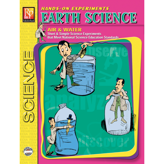 Hands-On Experiments: Earth Science - Air & Water (eBook)