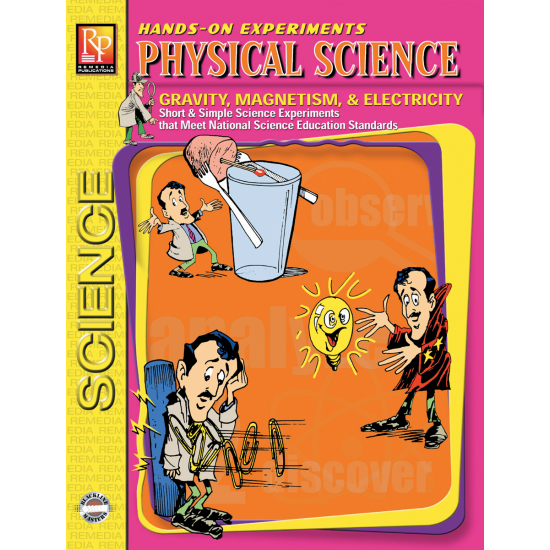 Hands-On Experiments: Physical Science - Gravity, Magnets, & Electricity (eBook)