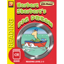 Herbert Sherbert's Big Dream: Improve Reading with Humor Storybook & Read-Along Audio