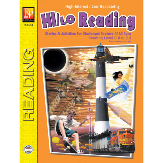 Hi/Lo Reading - Reading Level 1 (eBook)