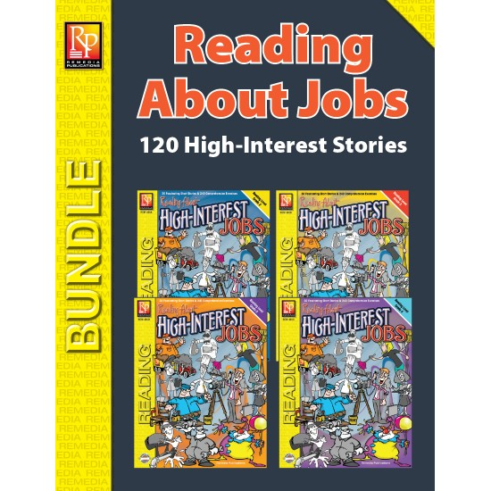 Reading About High-Interest Jobs (Bundle)