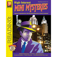 High-Interest Mini Mysteries: Featuring Detective Hanlon (eBook)