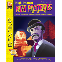 High-Interest Mini Mysteries: Featuring Inspector Trippington (eBook)
