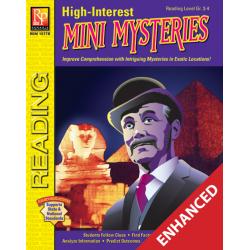 High-Interest Mini Mysteries: Featuring Inspector Trippington (Enhanced eBook)