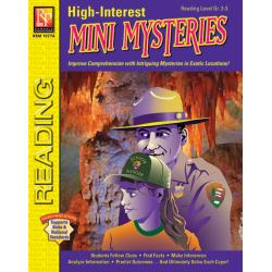 High-Interest Mini Mysteries: Featuring Jenna & Ranger White (eBook)